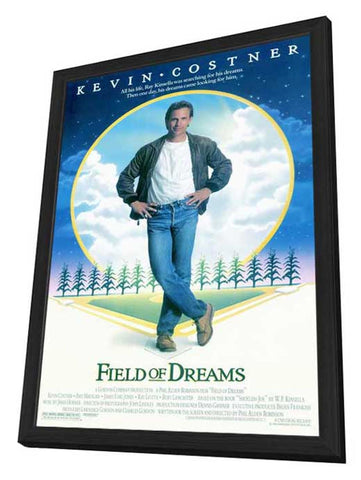 Field of Dreams 11 x 17 Movie Poster - Style A - in Deluxe Wood Frame