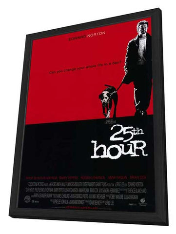 25th Hour 11 x 17 Movie Poster - Style A - in Deluxe Wood Frame