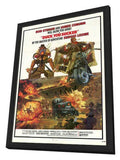 Fistful of Dynamite aka Duck You Sucker 11 x 17 Poster - Foreign - Style A - in Deluxe Wood Frame