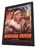 The African Queen 11 x 17 Movie Poster - German Style A - in Deluxe Wood Frame