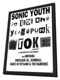 1991: The Year Punk Broke 11 x 17 Movie Poster - Style A - in Deluxe Wood Frame