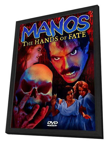'Manos' the Hands of Fate 11 x 17 Movie Poster - Style A - in Deluxe Wood Frame