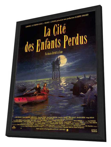 The City of Lost Children 11 x 17 Movie Poster - French Style A - in Deluxe Wood Frame
