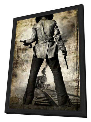 3:10 to Yuma 11 x 17 Movie Poster - Style J - in Deluxe Wood Frame