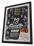 13 Ghosts 11 x 17 Movie Poster - Style B - in Deluxe Wood Frame