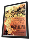 La Boheme 11 x 17 Movie Poster - Italian Style A - in Deluxe Wood Frame