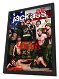 Jackass 2.5 11 x 17 Movie Poster - German Style A - in Deluxe Wood Frame