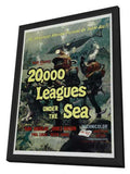 20,000 Leagues Under the Sea 11 x 17 Movie Poster - Style B - in Deluxe Wood Frame