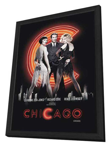 Chicago 11 x 17 Movie Poster - Argentine Style A - in Deluxe Wood Frame