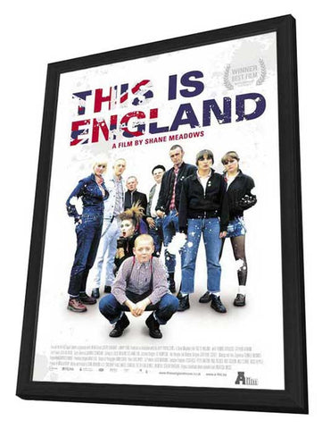 This Is England 11 x 17 Movie Poster - Dutch Style A - in Deluxe Wood Frame
