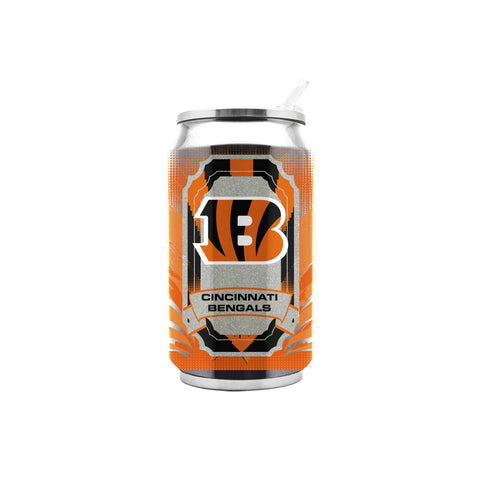 NFL Cincinnati Bengals 16oz Double Wall Stainless Steel Thermocan