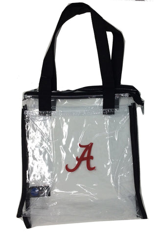 Littlearth NCAA Womens NCAA Clear Square Stadium Tote