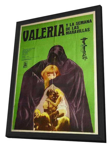 Valerie And Her Week Of Wonders 11 x 17 Movie Poster - Czchecoslovakian Style A - in Deluxe Wood Frame