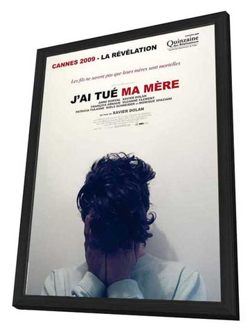 I Killed My Mother 11 x 17 Movie Poster - French Style A - in Deluxe Wood Frame