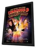 Tenacious D in: The Pick of Destiny 11 x 17 Movie Poster - French Style A - in Deluxe Wood Frame