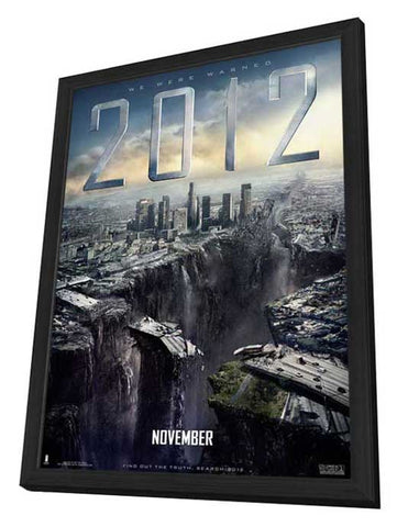 2012 11 x 17 Movie Poster - Style G - in Deluxe Wood Frame