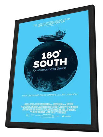 180° South 11 x 17 Movie Poster - Style A - in Deluxe Wood Frame