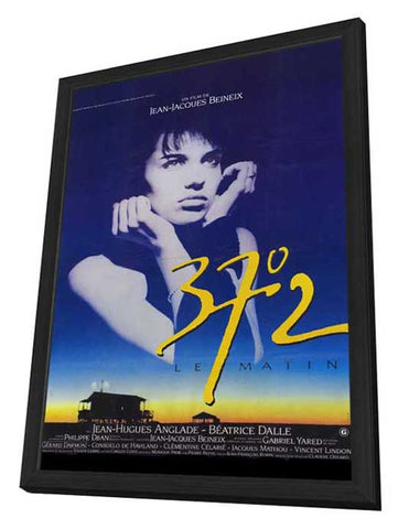 Betty Blue 11 x 17 Movie Poster - French Style A - in Deluxe Wood Frame