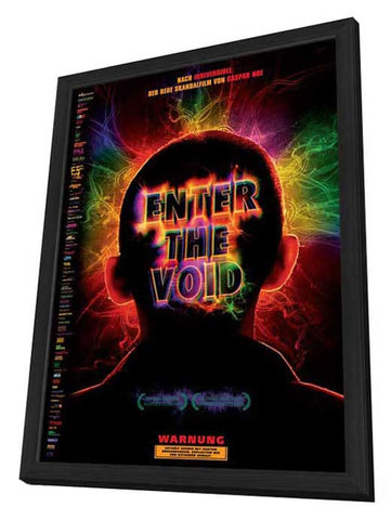 Enter the Void 11 x 17 Movie Poster - German Style A - in Deluxe Wood Frame