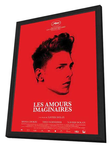 Heartbeats 11 x 17 Movie Poster - French Style A - in Deluxe Wood Frame