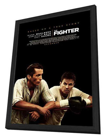 The Fighter 11 x 17 Movie Poster - Canadian Style A - in Deluxe Wood Frame