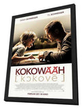 Kokowaah 11 x 17 Movie Poster - German Style A - in Deluxe Wood Frame