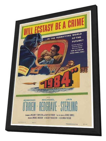 1984 27 x 40 Movie Poster - Style A - in Deluxe Wood Frame