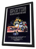 The Song Remains the Same 27 x 40 Movie Poster - Style A - in Deluxe Wood Frame
