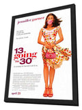13 Going On 30 27 x 40 Movie Poster - Style A - in Deluxe Wood Frame