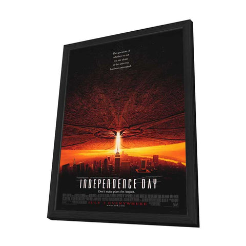 Independence Day 27 x 40 Movie Poster - Style A - in Deluxe Wood Frame