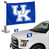 ProMark NCAA Kentucky Wildcats Flag Set 2-Piece Ambassador Style, Team Color, One Size