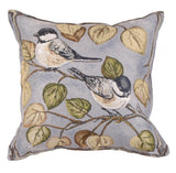 Simply Chickadee Outdoor Pillow