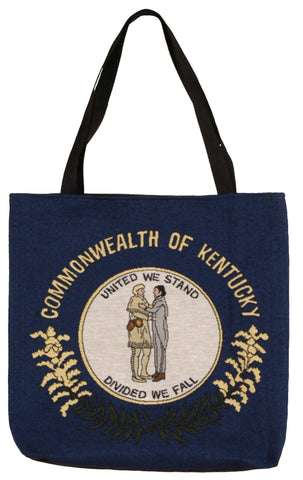 Simply Flag of Kentucky Tapestry Tote Bag