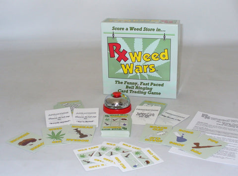 Worldwise Imports Rx Weed Wars Card Game