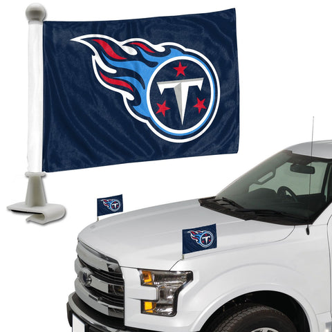 ProMark NFL Tennessee Titans Flag Set 2-Piece Ambassador Style, Team Color, One Size