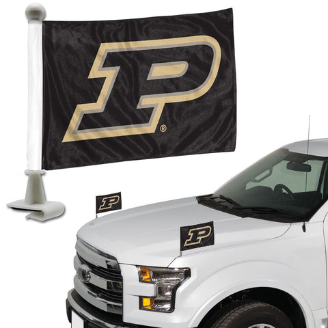 ProMark NCAA Purdue Boilermakers Flag Set 2-Piece Ambassador Style, Team Color, One Size