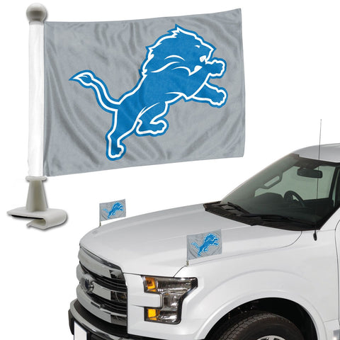 ProMark NFL Detroit Lions Flag Set 2-Piece Ambassador Style, Team Color, One Size