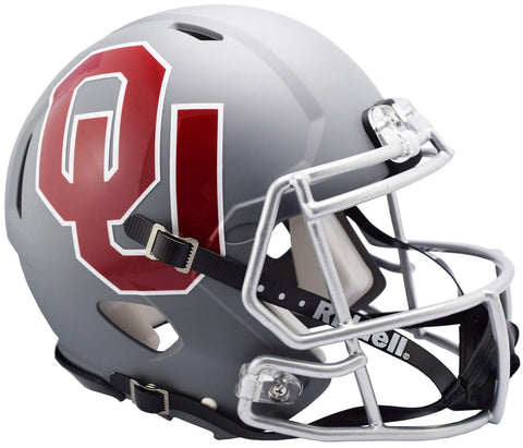 Riddell NCAA Oklahoma Sooners Mini Helmetamp Alternate, Team Colors, One Size