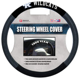 Fremont Die NCAA Kentucky Wildcats No Poly-Suede Steering Wheel Coverpoly-Suede Steering Wheel Cover, Black, One Size