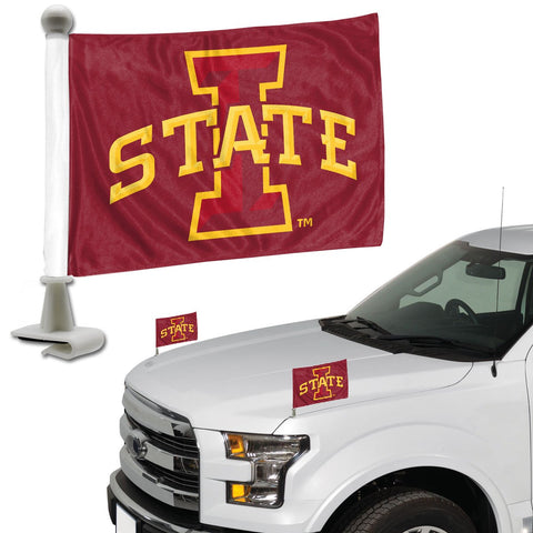 ProMark NCAA Iowa State Cyclones Flag Set 2-Piece Ambassador Style, Team Color, One Size