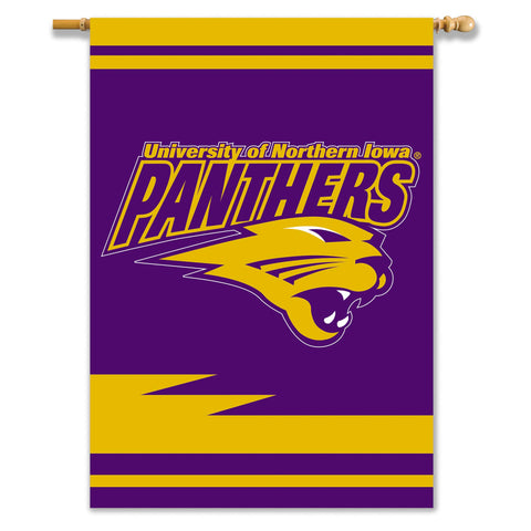 NCAA Northern Iowa Panthers 2-Sided 28-by-40 inch House Banner with  Pole Sleeve
