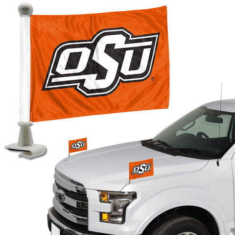 ProMark NCAA Oklahoma State Cowboys Flag Set 2-Piece Ambassador Style, Team Color, One Size