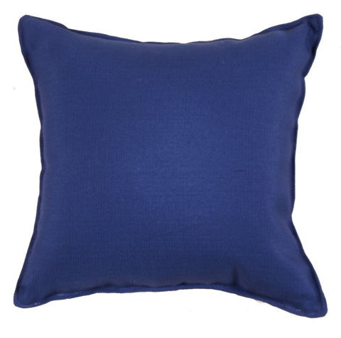 Simply Coast Royalty Blue Outdoor Pillow