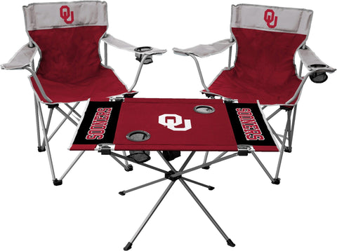 Jarden Sports Licensing NCAA Oklahoma Sooners Tailgate Kit, Team Color, One Size