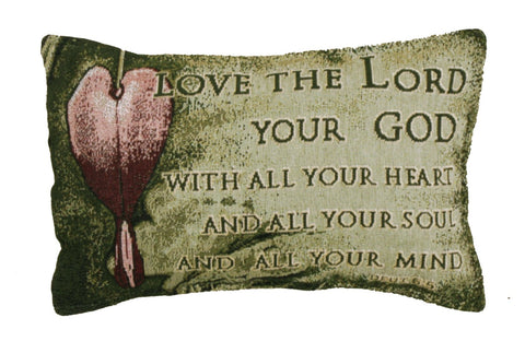 Simply Love The Lord Tapestry Pillow