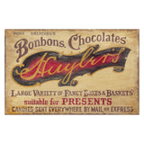 Red Horse Signs LLC Chocolate Shop Wall Art - 26W x 15H in. Multicolor - PP-987