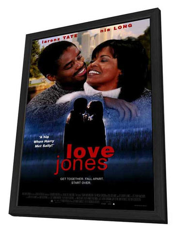 Love Jones 27 x 40 Movie Poster - Style A - in Deluxe Wood Frame