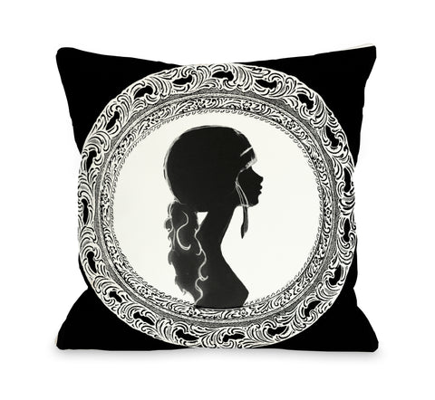 Silhouette Throw Pillow by OBC 18 X 18