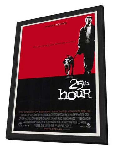 25th Hour 27 x 40 Movie Poster - Style A - in Deluxe Wood Frame