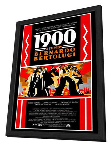 1900 27 x 40 Movie Poster - Style A - in Deluxe Wood Frame